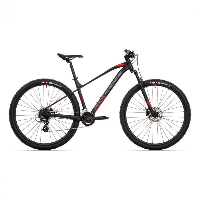 Bicicleta Rock Machine Manhattan 70-29 29'' Negru/Gri/Rosu L-19'' [0]