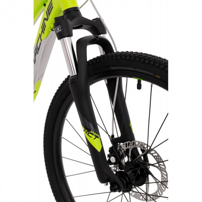 Bicicleta Rock Machine Storm 24'' MD Galben/Gri [2]