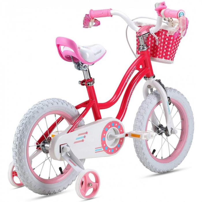 Bicicleta RoyalBaby Star Girl 12 Pink [1]