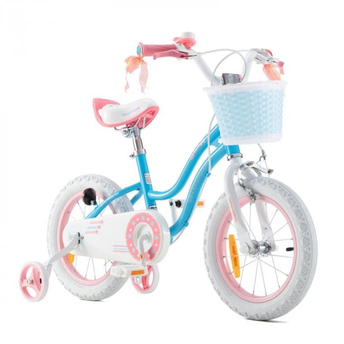 Bicicleta RoyalBaby Star Girl 16 Blue [0]