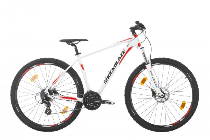 "Bicicleta Shockblaze R2 27.5"" Alb 2021-480mm [0]"