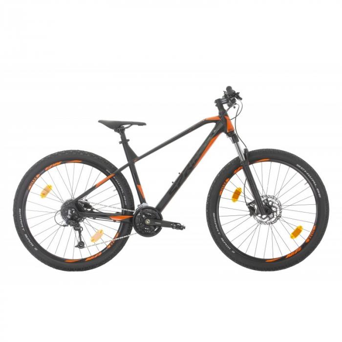 Bicicleta Sprint Apolon Pro 27.5' NegruMat/Portocaliu 2020 - 440 mm [0]