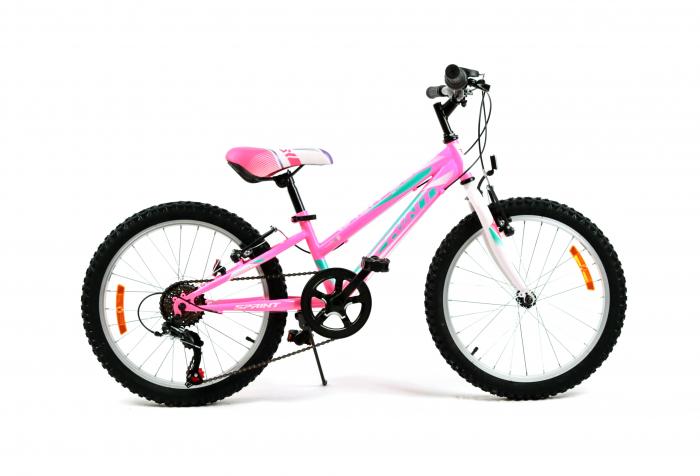 Bicicleta Sprint Calypso 20 6V Roz Mat 2021 [0]