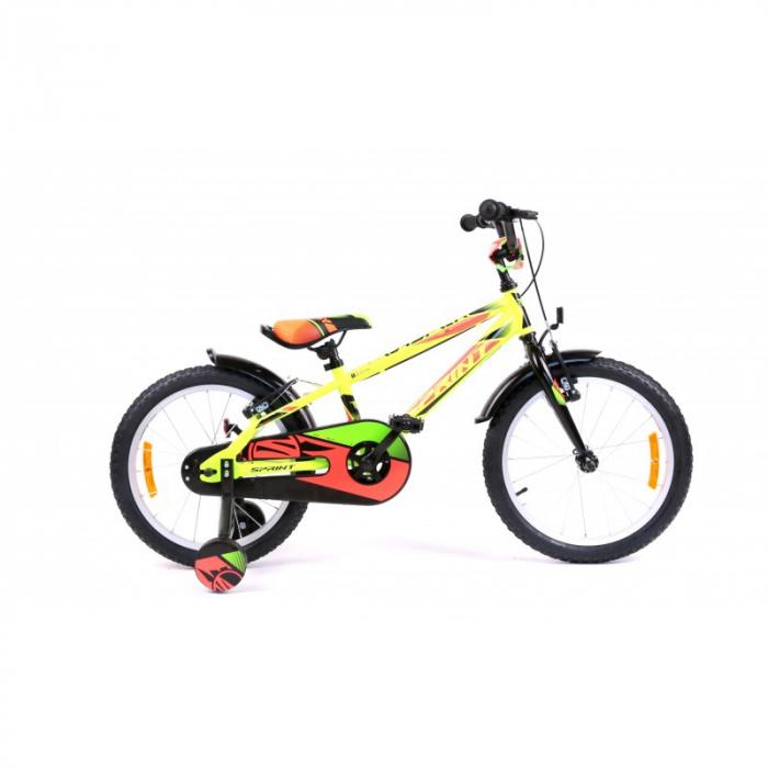 Bicicleta Sprint Casper 18 Verde Neon 2020 [0]