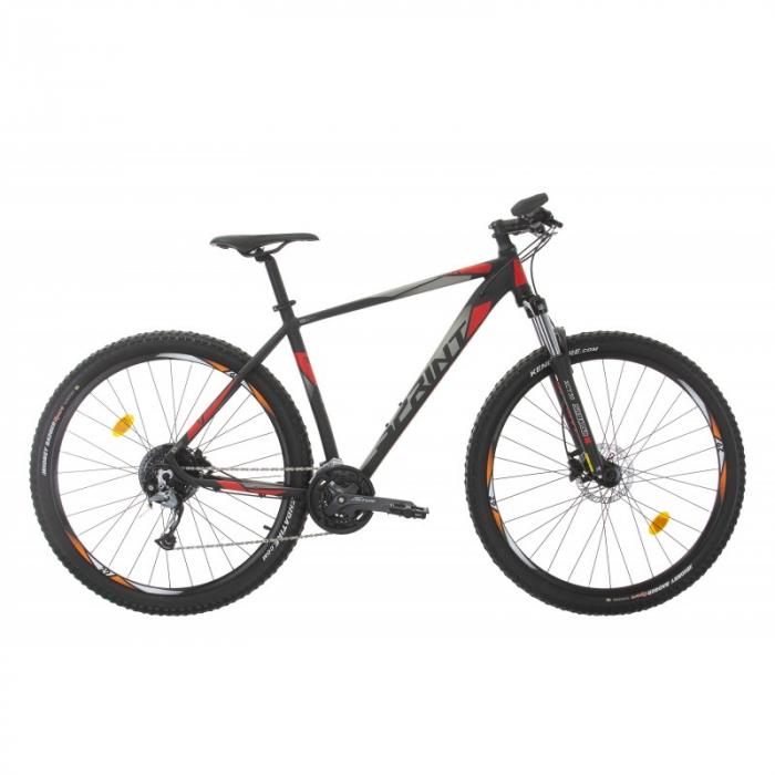 Bicicleta Sprint Maverick Pro 27.5'' 2021 Negru/Rosu 400mm [0]