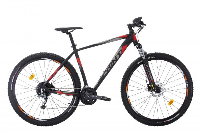 Bicicleta Sprint Maverick Pro 29'' NegruMat/Rosu 2021 480 mm [0]