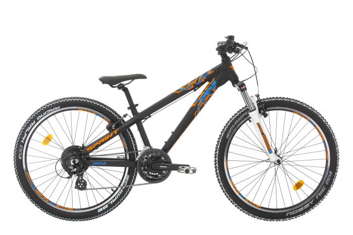 Bicicleta Sprint Primus VBR 26 2021 Negru Mat [0]