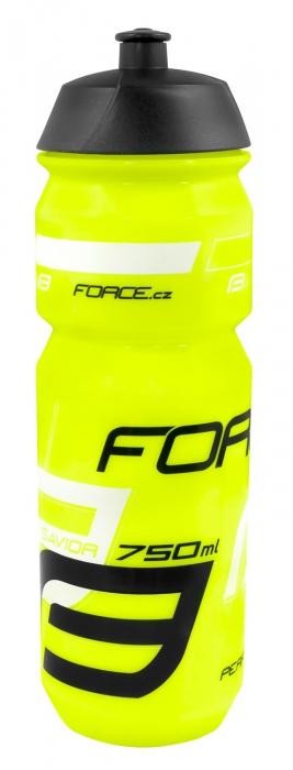 Bidon apa Force Savior 0.75l Fluo/Negru/alb [0]