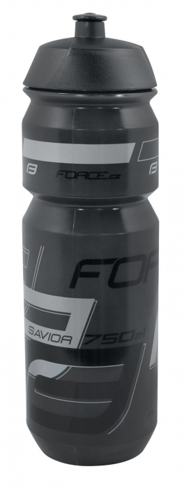 Bidon apa Force Savior 0.75l Negru/Gri [0]