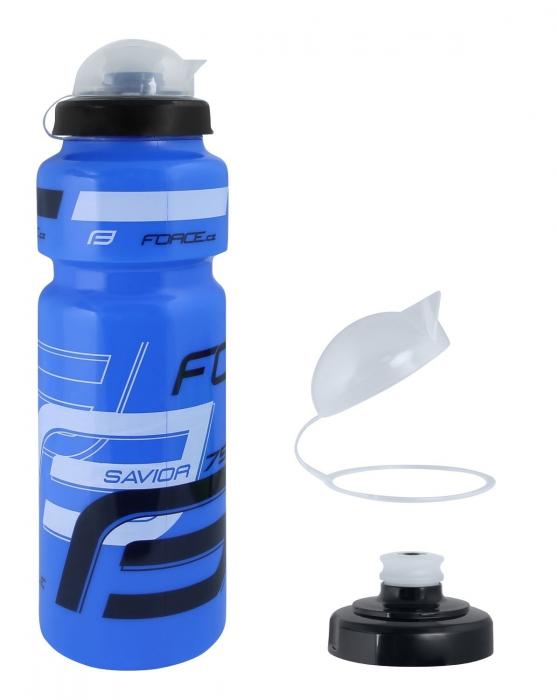 Bidon apa Force Savior Ultra 0.75l albastru/alb/negru [0]