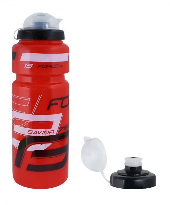 Bidon apa Force Savior Ultra 0.75l rosu/alb/negru [0]