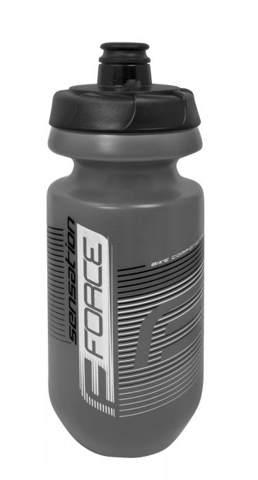 Bidon apa Force Sensation 0.62l gri/alb-negru [0]