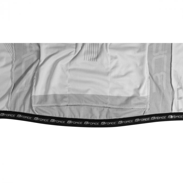 Tricou cu maneca lunga Force Lux negru/alb XXL [4]