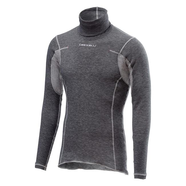 Bluza de corp cu maneca lunga Castelli Flanders Neck Warm [0]