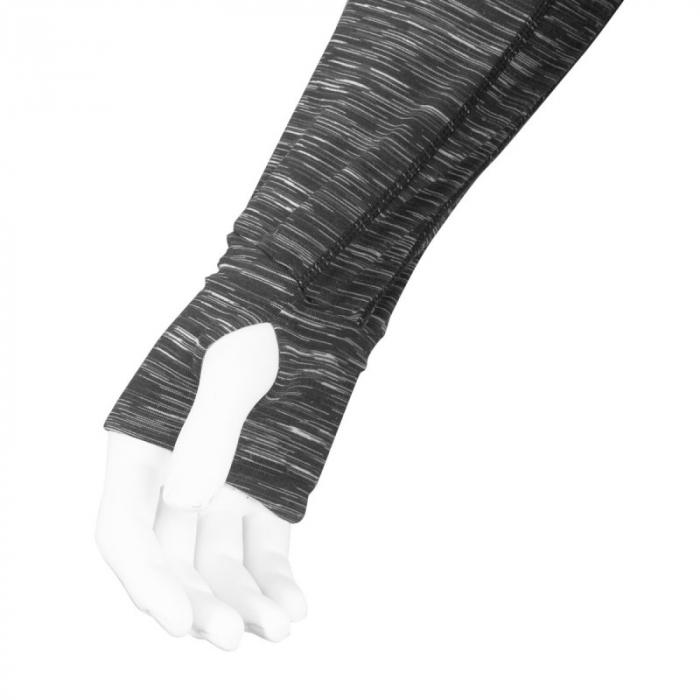 Hanorac Force Fitness, de dama, Negru L [3]