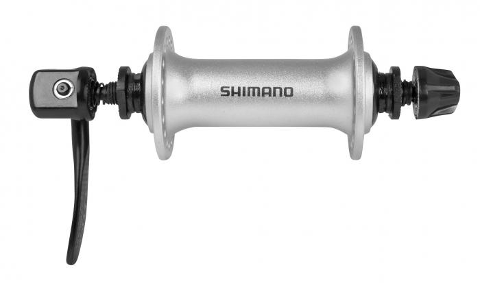 Butuc fata Shimano HB-T3000, 36h, argintiu [0]