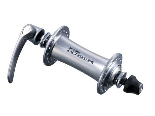 Butuc fata Shimano Ultegra HB-6700 36H old 100mm ax 108mm QR 133 argintiu [0]