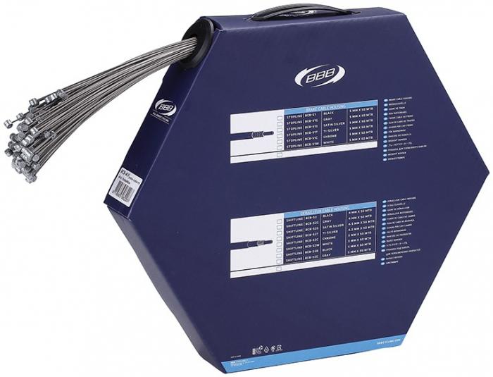 Cablu frana BBB BCB-41F BrakeWire Slick 1.5x1700 mm [0]
