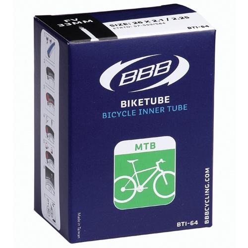 Camera bicicleta BBB 26x1.9/2.125, 47/57-559, SV 60mm [0]