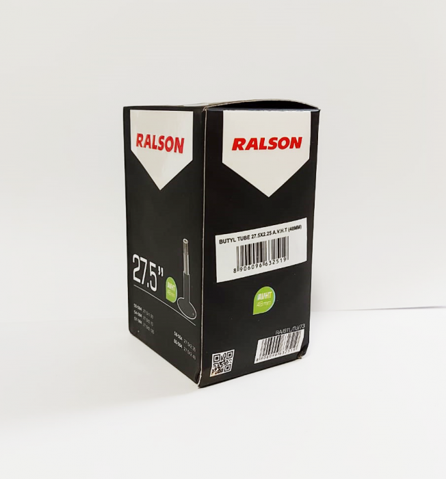 Camera bicicleta Ralson 27.5x1.75/2.25, valva Auto 48mm [1]