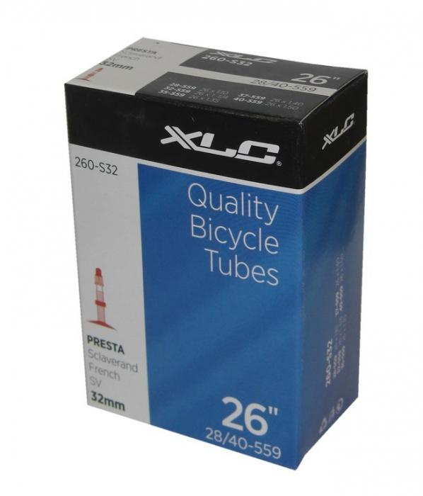 Camera bicicleta XLC 26x1.10/1.5, 28/40-559, SV 40mm [0]
