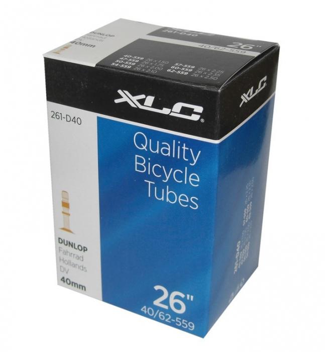 Camera bicicleta XLC 26x1.5/2.5, 40/62-559, DV 40mm [0]