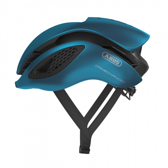 Casca ABUS Game Changer Steel Blue [0]