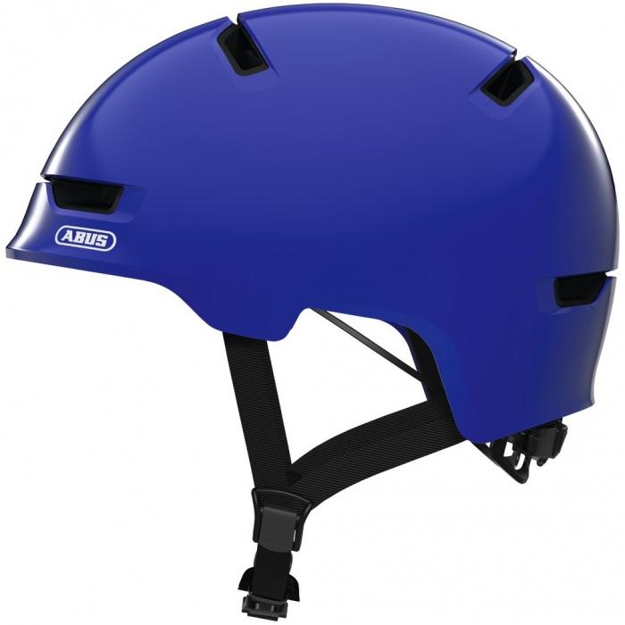 Casca ABUS Scraper 3.0 Kid shiny blue M (54-58 cm) [0]