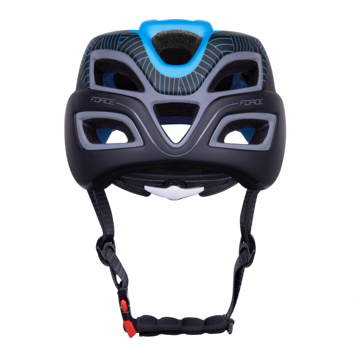 Casca Force Aves MTB E-bike, albastru/negru mat L/XL [4]