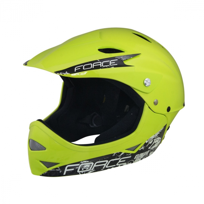 Casca Force Downhill Junior Fluo Lucios S-M [0]
