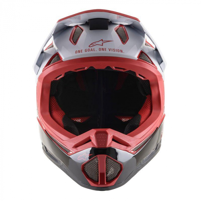 Casca fullface Alpinestars Missile PRO Cosmos red/white/glossy L [2]