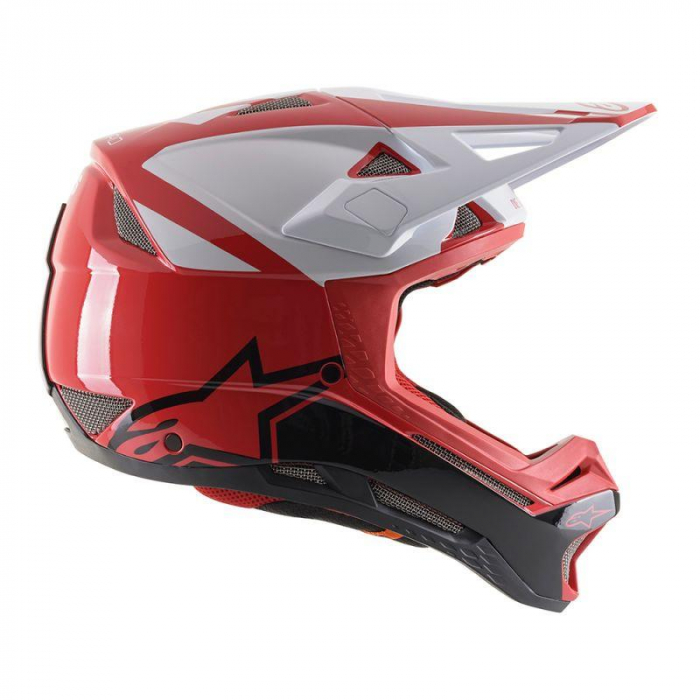 Casca fullface Alpinestars Missile PRO Cosmos red/white/glossy L [3]
