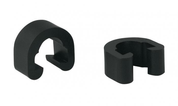 Cleme plastic negre pentru cabluri si conducte [0]