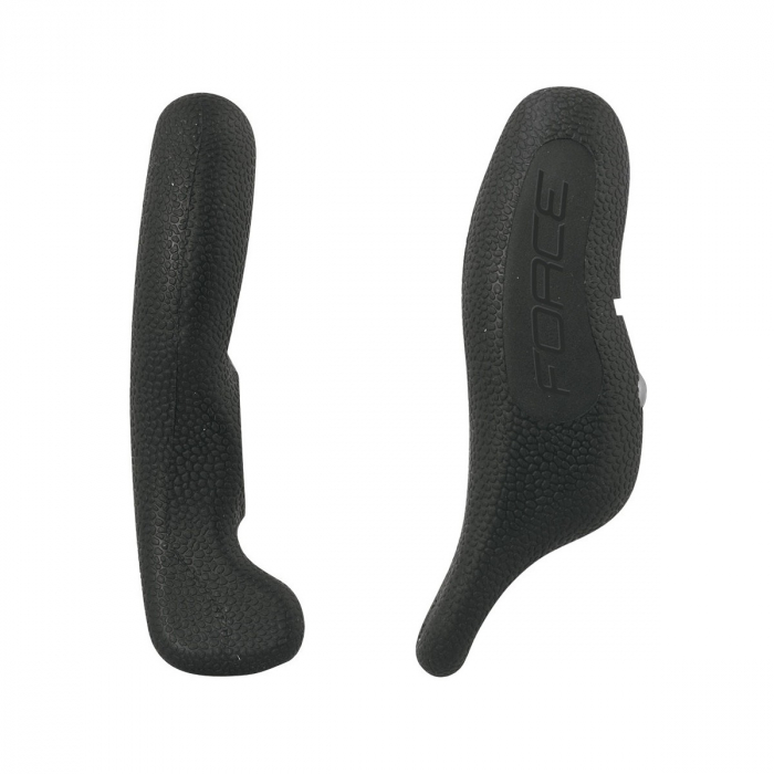 Extensii ghidon Force Rab AL 12cm cauciuc negru [0]