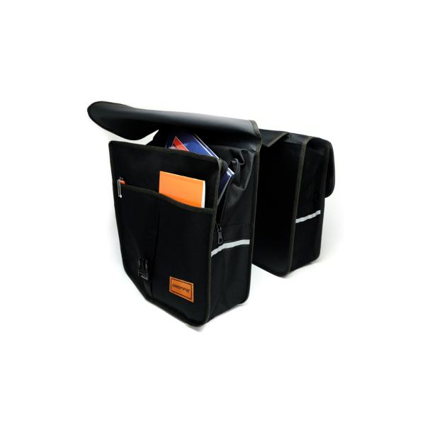 Coburi portbagaj spate Dieffe MAXI Poliester Negru [0]