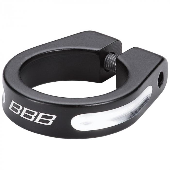 Colier tija sa BBB The Strangler BSP-80, fixare imbus, Negru, 31.8mm [0]