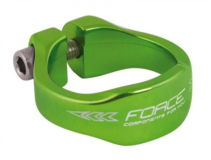 Colier tija sa Force Aluminiu, Verde, 34.9mm [0]