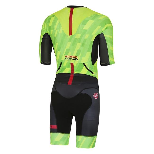 Costum de triatlon cu maneca scurta Castelli All Out Speed [1]