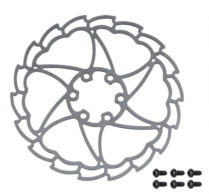 Disc frana Force Light Star 160mm 6 suruburi [0]