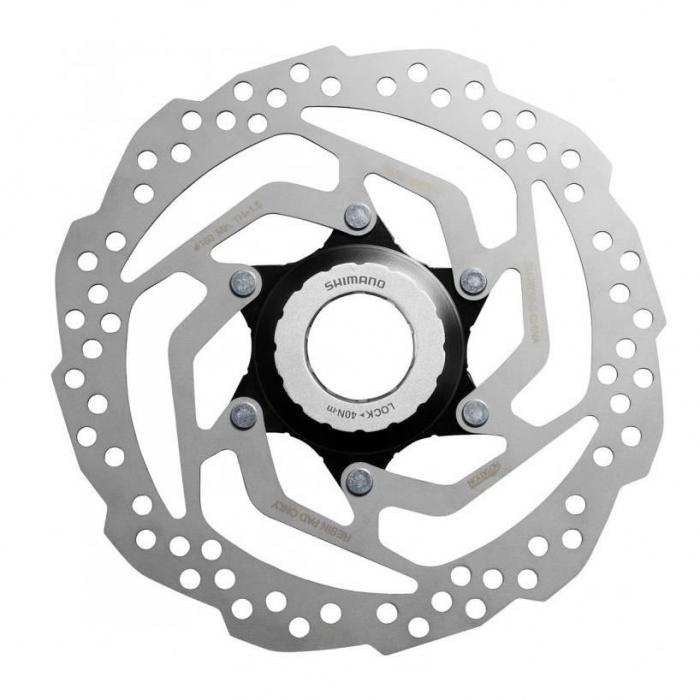 Disc frana Shimano SM-RT10, center Lock, 180mm [0]