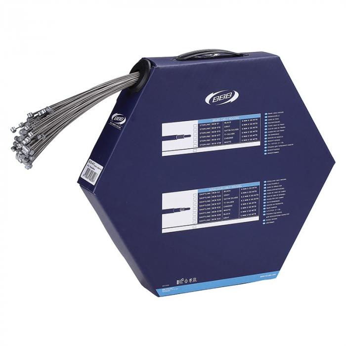 Dispenser cabluri frana BBB BCB-41F BrakeWire Slick 1.5x2350mm 50 buc [0]