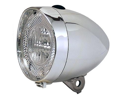 Lumina fata Clasic Union cu iluminare led, pe baterii Argintiu [0]
