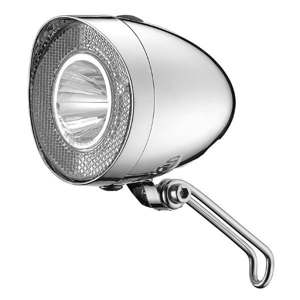 Lumina fata Clasic Union cu led 20 Lux, Argintiu pentru dinam [0]