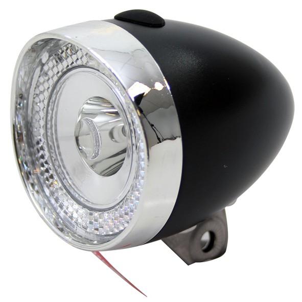 Lumina fata Union UN-4955 Clasic, bateriib 1 LED, Negru/Argintiu [0]