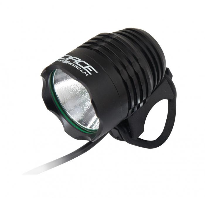 Lumina fata cu acumulator extern Force Glow-2 1000L Cree Led negru [0]