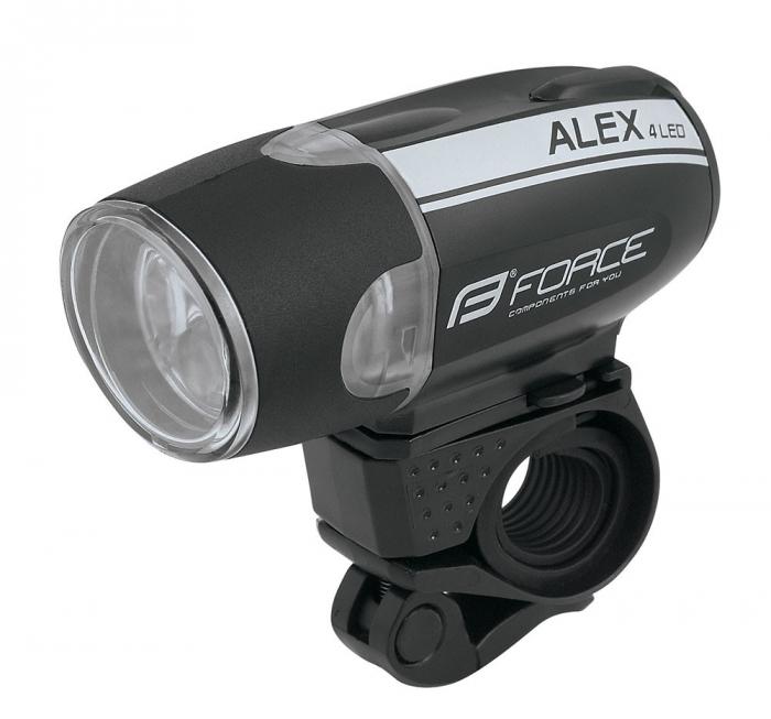 Lumina fata Force Alex 4 leduri cu baterii [0]