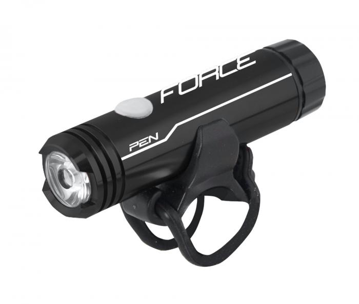 Lumina fata Force Pen 200lm USB negru [0]
