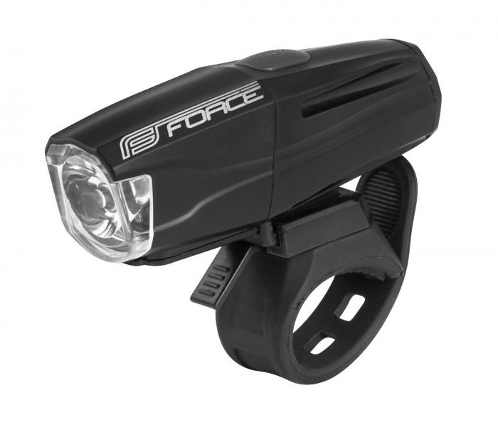 Lumina fata Force Shark USB 500Lm Negru [0]