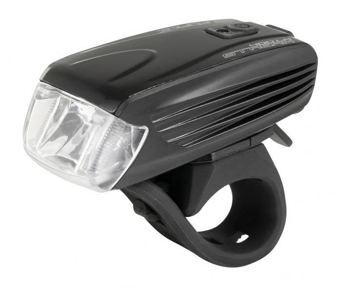 Lumina fata Force Stream 400lm USB Negru [0]