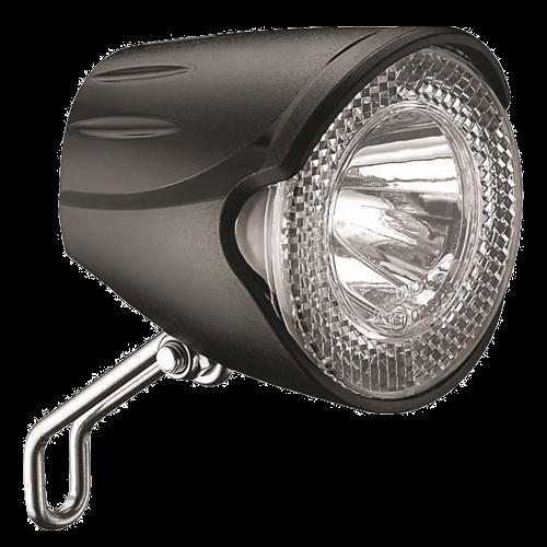 Lumina fata Union UN-4250 AM 20Lux pentru dinam traditional cu cablu 220 cm [0]